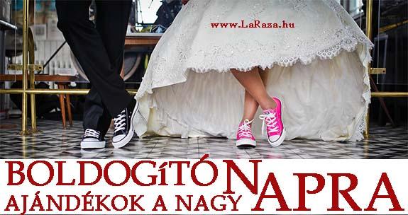 Esküvőkre ajándékötletek a La Raza Webshopon