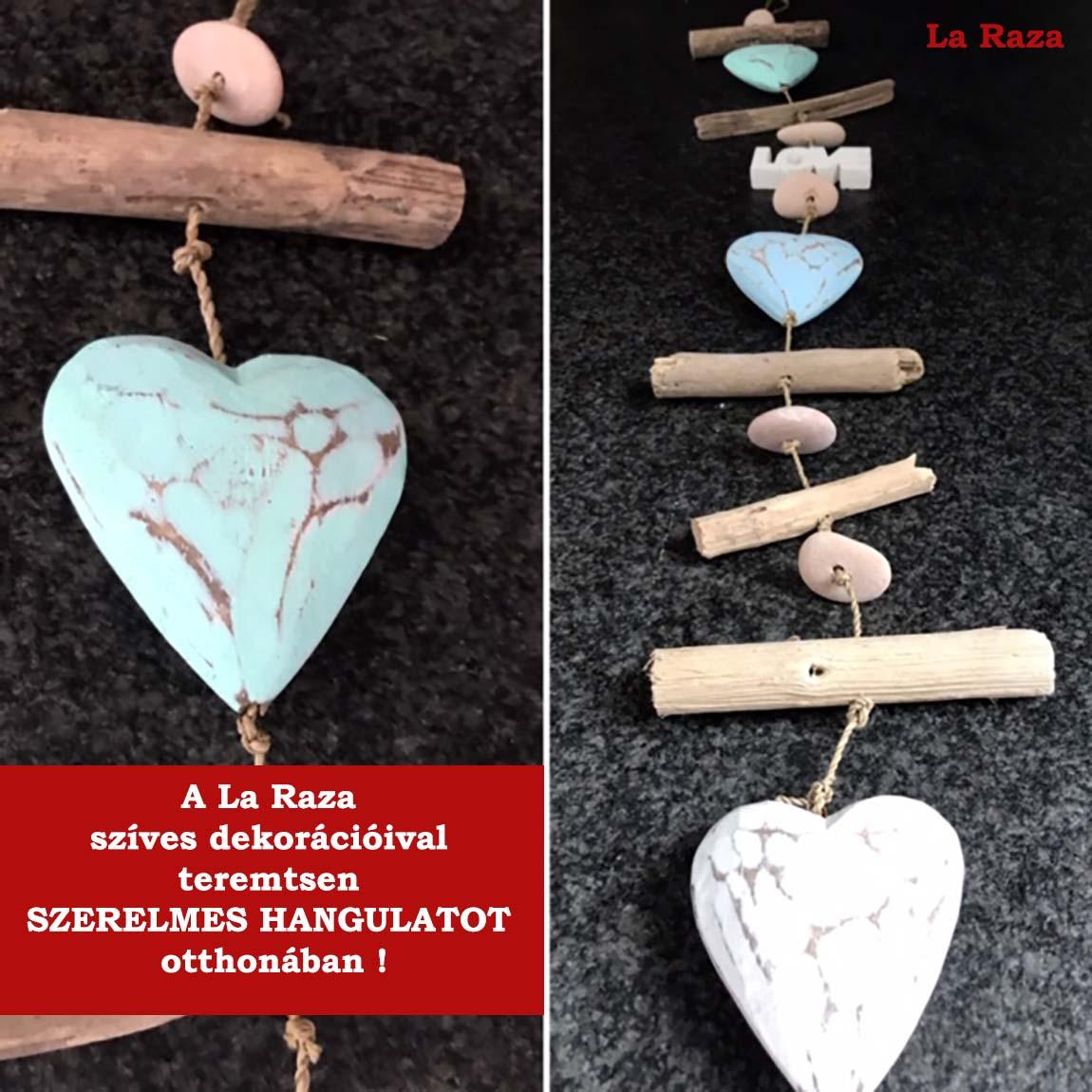 Valentin napi ajándékötletek a www.laraza.hu oldalon.